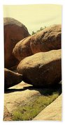 Elaphant Rocks 4 Beach Towel