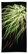 Electric Jellyfish Beach Towel