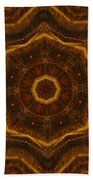 Electric Mandala 6 Beach Towel