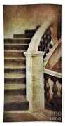 Elegant Staircase Beach Towel