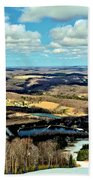 Elk Mountain Ski Resort Beach Towel