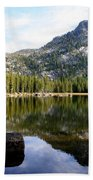Elkhorn Mountain Reflection Beach Towel