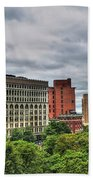 Ellicott Square Building     St. Joseph Cathedral     Prudential Guaranty Building Beach Towel