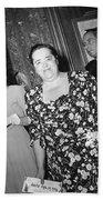 Elsa Maxwell (1883-1963) Beach Towel