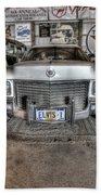 Elvis' Cadillac Beach Towel