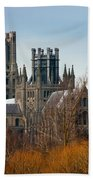 Ely Cathedral Scenic Beach Towel