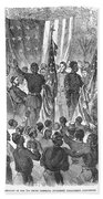 Emancipation, 1863 Beach Towel