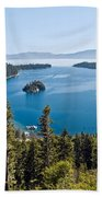 Emerald Bay Morning Beach Towel