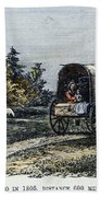 Emigrants To Ohio, 1805 Beach Towel