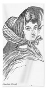 Emily Bront� (1818-1848) Beach Towel