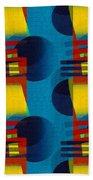 En Formes 01f Beach Towel by Aimelle