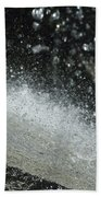 End Of The Waterfall Beach Towel