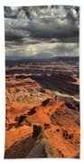 Endless Utah Canyons Beach Towel