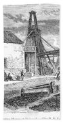 England: Coal Mining Beach Towel