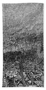 England: Manchester, 1876 Beach Towel