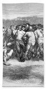 England: Rugby (1871) Beach Towel
