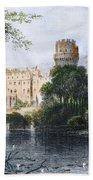 England: Warwick Castle Beach Towel