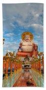 Entrance To Buddha Beach Towel by Adrian Evans