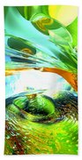Envious Thoughts Abstract Beach Towel