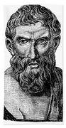Epicurus (343?-270 B.c.) Beach Towel