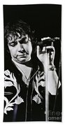 Eric Burdon In Concert-2 Beach Towel