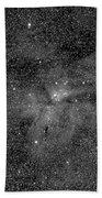 Eta Carinae Nebula, Cassini Image Beach Towel