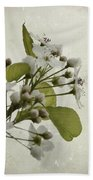 Etched In Love Beach Towel