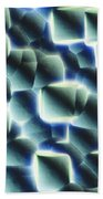 Etched Silicon Wafer Beach Towel