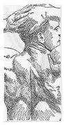 Eugene Sandow (1867-1925) Beach Towel