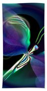 Eve Of The Dragonfly Beach Towel