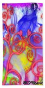 Even In Chaos Find Love Beach Towel