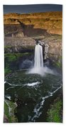 Evening At Palouse Falls Beach Towel