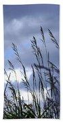 Evening Grass Beach Towel