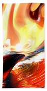 Evil Intent Abstract Beach Towel