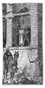 Execution Of Heretics Beach Towel