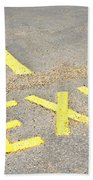 Exit Sign Beach Towel