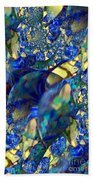 Exquisitely Blue Beach Towel