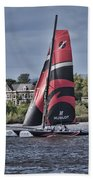 Extreme 40 Team Alinghi Beach Towel