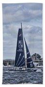 Extreme 40 Team Groupe Edmond De Rothschild Beach Towel