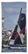 Extreme 40 Team Wales 2 Beach Towel
