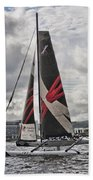 Extreme 40 Team Wales Beach Towel