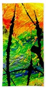 Extreme Ecstasy Beach Towel by Angela L Walker