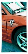 F355 Spider Beach Towel