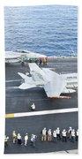Fa-18 Aircraft Prepare To Take Beach Towel