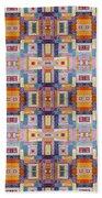 Fabric Art Beach Towel