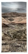 Faded Painted Hills Beach Towel