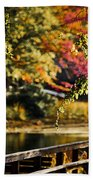Fall At Tyler State Park Beach Towel