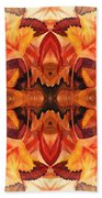 Fall Decor Beach Towel