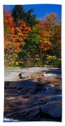 Fall Falls Beach Towel