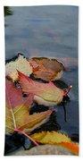 Fall Gathering Beach Towel
